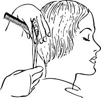 Friseurscheren
